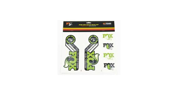 Fox Fork and Shock Decal Kit grün